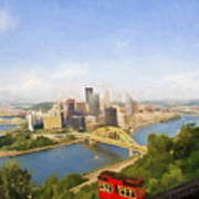 Pittsburgh Pennsylvania Incline Art Print