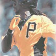 Pittsburgh Pirates Andrew Mccutchen Art Print