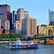 Pittsburgh River Cruise  Art Print