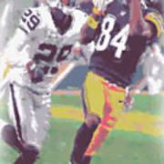 Pittsburgh Steelers Antonio Brown 1 Art Print