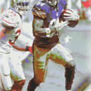 Pittsburgh Steelers Antonio Brown 3 Art Print