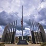 Pittsburgh War Memorial Just Outside Art Print