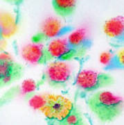 Pixie Flowers Art Print