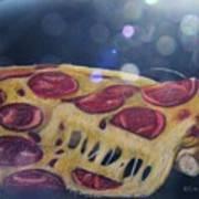 Pizza Anyone Art Print