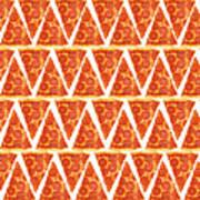 Pizza Slices Art Print