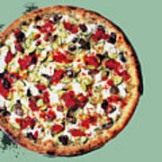 Pizza - The Guido Special Art Print