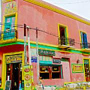 Pizzeria In La Boca Area Of Buenos Aires-argentina  Art Print
