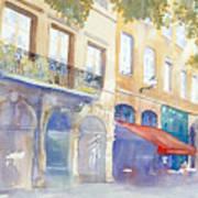 Place De La Baleine Art Print
