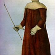 Plague Costume Art Print