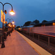 Plainfield Train Station Art Print
