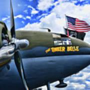 Plane - Curtiss C-46 Commando Art Print
