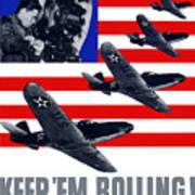 Planes -- Keep 'em Rolling Art Print