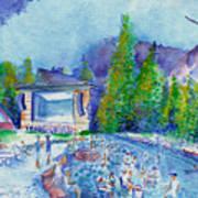 Planet Bluegrass Lyons Colorado Art Print