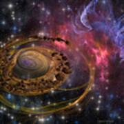 Planet Formation Art Print
