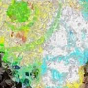 Planet Green Art Print