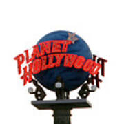 Planet Hollywood Sign Vegas Art Print