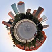 Planet Houston Art Print