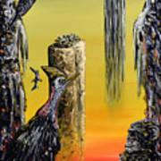 Planet Of Anomalies Art Print
