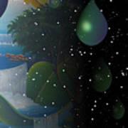 Planet Water  Art Print