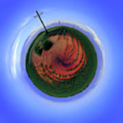 Planet West Texas Art Print