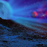 Planet X Art Print