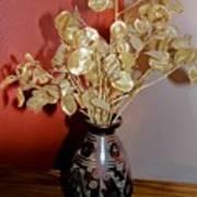 Plant Life In Vase Art Print
