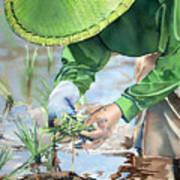 Planting The Future Art Print
