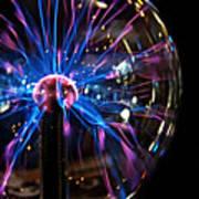 Plasma Sphere Art Print