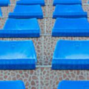 Plastic Sits Art Print