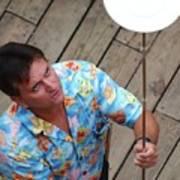 Plate Juggler 6689 Art Print