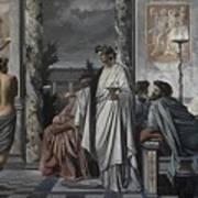 Plato's Symposium Art Print