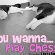Play Chess? Art Print