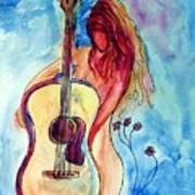 Play Me A Song Art Print