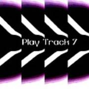 Play Track 7 Art Print