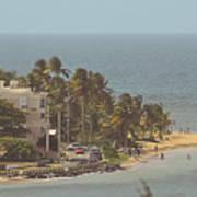 Playa Azul I Art Print