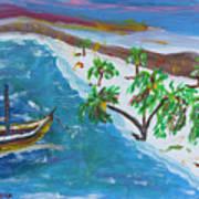 Playa Secreta II Art Print