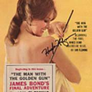 Playboy Magazine Poster Signed Art Print