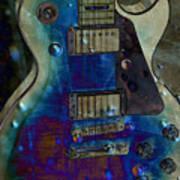Playin The Blues Art Print