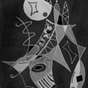 Playing Go Fish Art Print