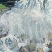 Playing In The Mist - Niagara Falls Art Print