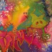 Playmates 1 Art Print