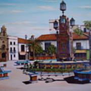 Plaza Alta Art Print