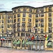 Plaza- Boston Art Print