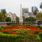 Plaza De Mayo In Buenos Aires-argentina  Art Print