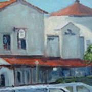 Plaza Del Mar Art Print