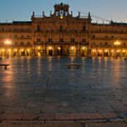 Plaza Mayor In Salamanca Art Print