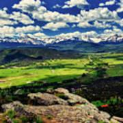 Pleasant Valley Colorado Art Print