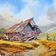 Pleasent Valley Barn Art Print