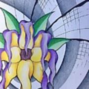 Pleiadean Sunflower Art Print