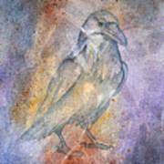 Pleistocene Raven 1 Art Print